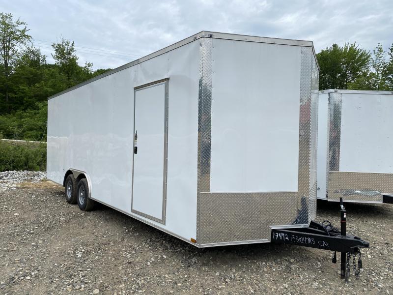2020 Quality Cargo 8.5X24 EXTRA HEIGHT 9990GVW Enclosed Cargo Trailer