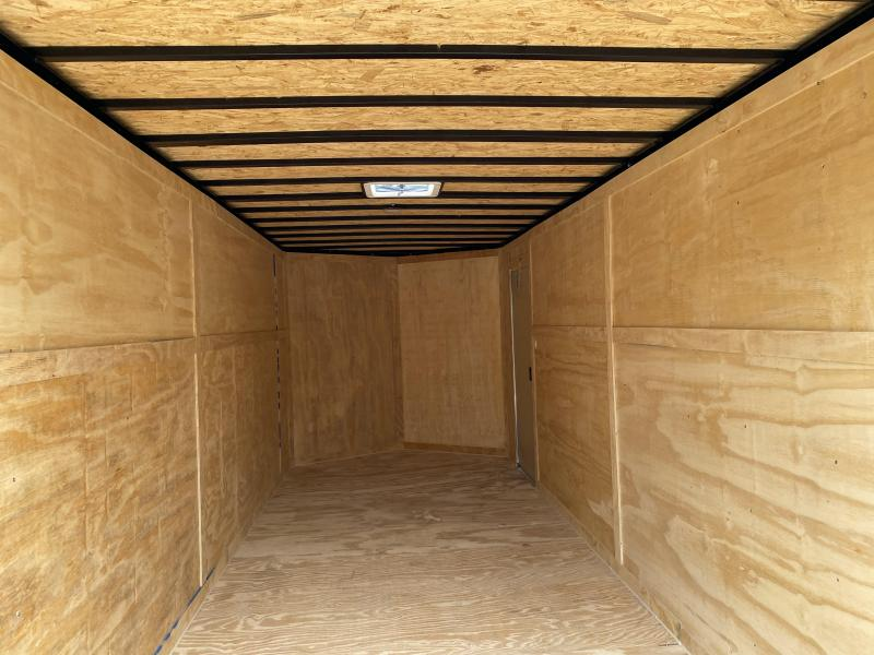 2020 Freedom Trailers 7x14 RAMP Enclosed Cargo Trailer