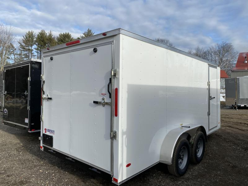 2020 Freedom Trailers 7x16 HD roof/bar lock and more Enclosed Cargo Trailer