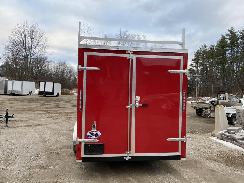 2020 Quality Cargo 7x16 EXTRA HEIGHT & LADDER RACKS Enclosed Cargo Trailer