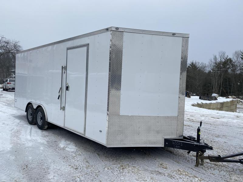 2020 Freedom Trailers 8.5x20 EXTRA HEIGHT 9990GVW Enclosed Cargo Trailer