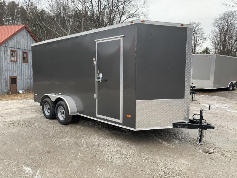 2020 Freedom Trailers 7x16 Enclosed Cargo Trailer