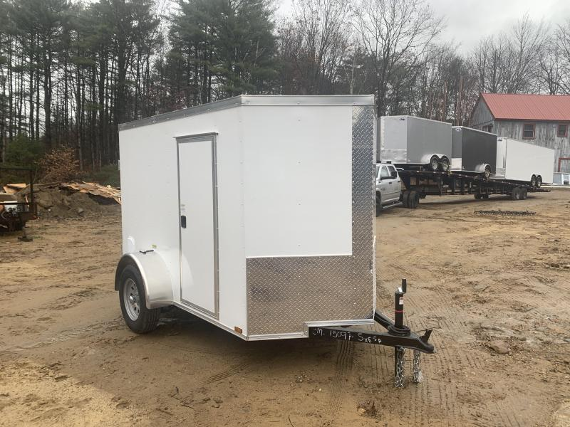 2020 Quality Cargo 5x8 double doors/side door and extra height Enclosed Cargo Trailer