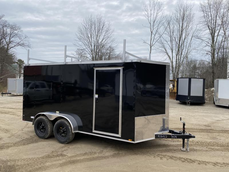 2020 Quality Cargo 7x14 9990GVW Ladder racks and more! Enclosed Cargo Trailer
