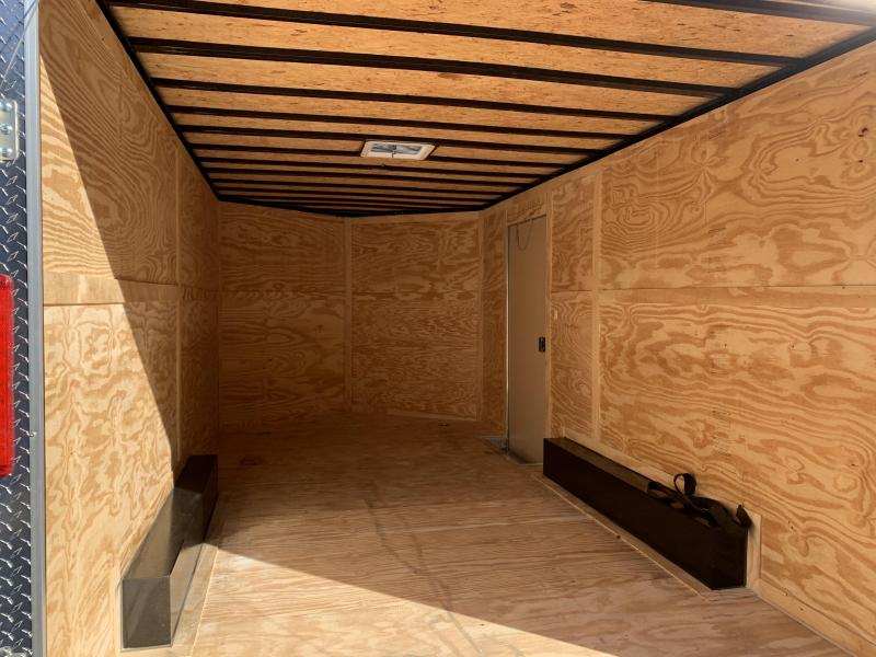2020 Freedom Trailers 8.5X16 WALK ON ROOF CONTRACTORS PACKAGE TALL! Enclosed Cargo Trailer