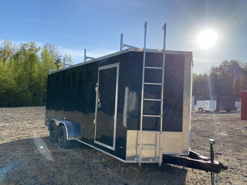 2020 Freedom Trailers 7X18 WALK ON ROOF PACKAGE Enclosed Cargo Trailer