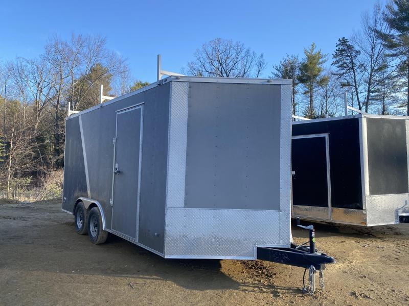 2020 Freedom Trailers 8.5X16 TWO TONE COLOR WALK ON ROOF PACKAGE Enclosed Cargo Trailer