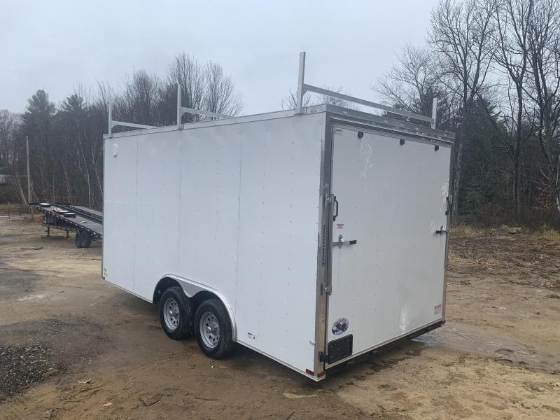 2020 Quality Cargo 8.5X16 WALK ON ROOF PACKAGE EXTRA TALL Enclosed Cargo Trailer