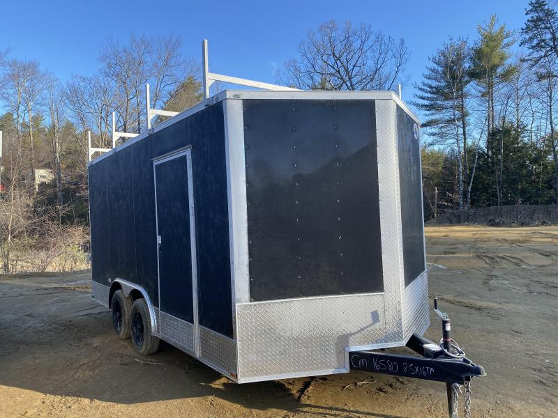 2020 Quality Cargo 8.5X16 WALK ON ROOF PACKAGE & EXTRA HEIGHT Enclosed Cargo Trailer