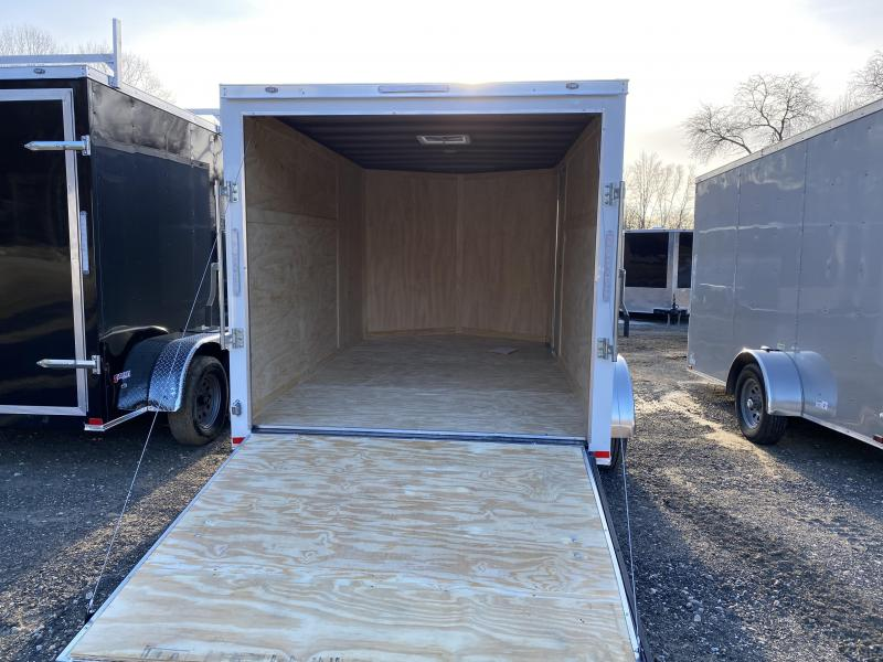 2020 Freedom 7x12 DUAL AXLE RAMP Enclosed Cargo Trailer