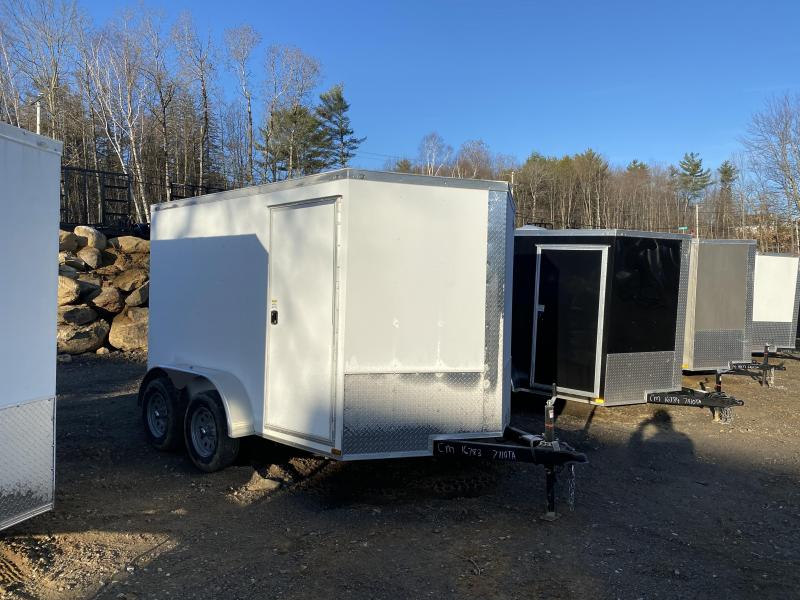 2020 Quality Cargo 7X10 TANDEM AXLE 7K GVW Enclosed Cargo Trailer