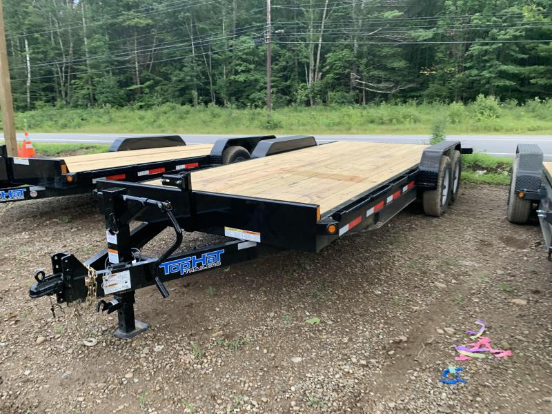 2019 Top Hat Trailers 7x20 17500GVW 8inch frame HEAVY DUTY Equipment Trailer