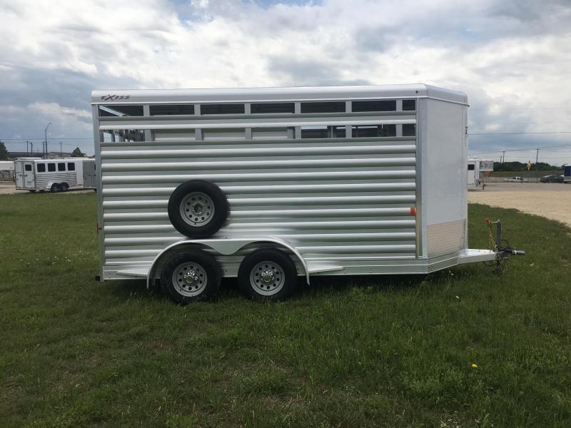 2020 Exiss Trailers STK 613 Bumper Pull Livestock Trailer
