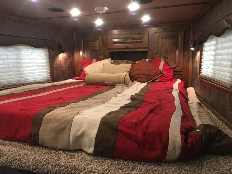 2019 Platinum Coach 3 Horse with a 10 ft Short Wall Horse Trailer
