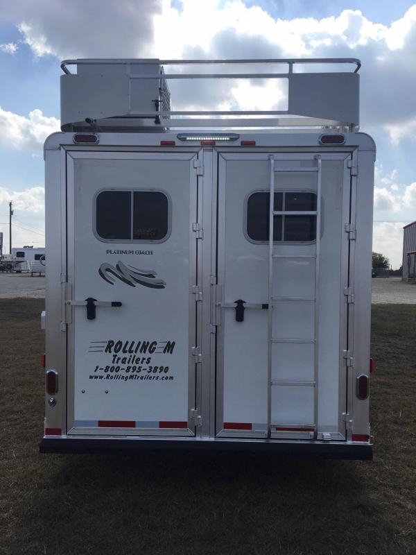 2020 Platinum Coach 4H 11 ft 2 in LQ Horse Trailer