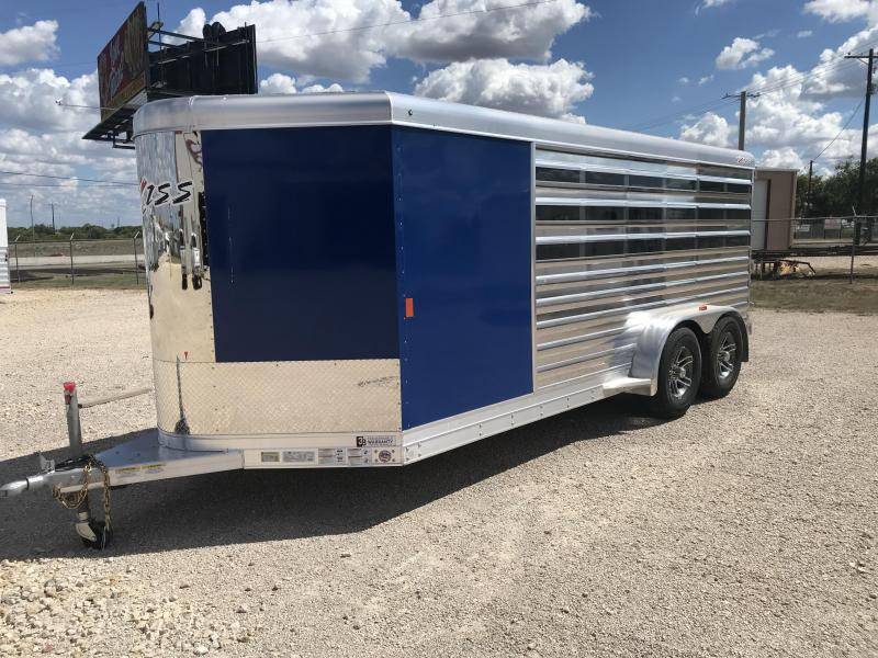 2020 Exiss Trailers Exhibitor 716A Livestock Trailer