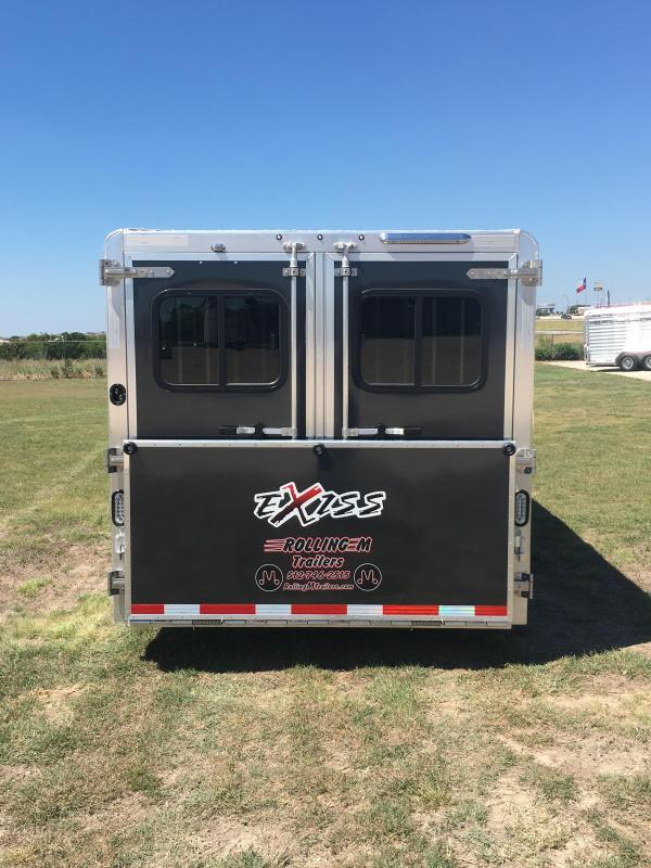 2019 Exiss Trailers Exhibitor 7024W Livestock Trailer