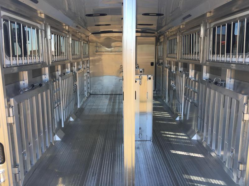 2020 Sooner Select 720W 8 Pen Low Profile Livestock Trailer