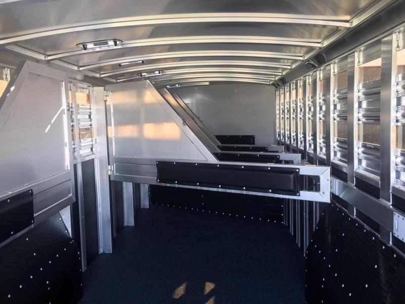 2020 Platinum Coach 6 Horse 8 Wide Trailer Special with Smart Tack Horse Trailer