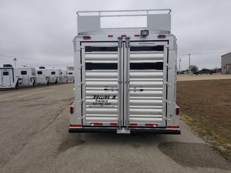 2020 Platinum Coach 2018 6H Stock Horse Trailer