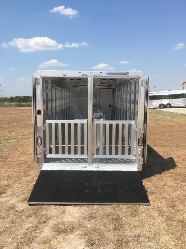 2019 Exiss Trailers Exhibitor 7024A Livestock Trailer