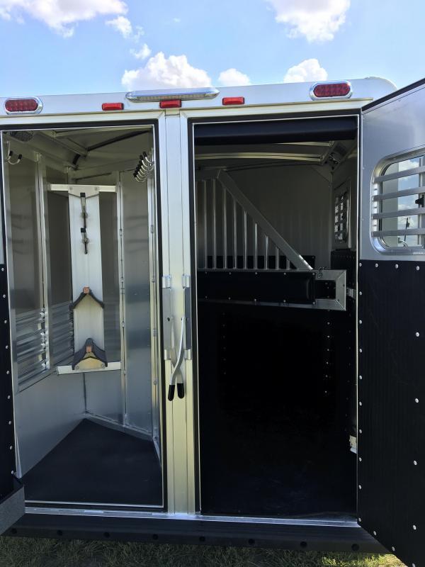 2020 Platinum Coach 2 Horse BP Horse Trailer