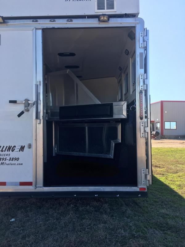 2012 Lakota 3 Horse Charger with a 15' SW Horse Trailer