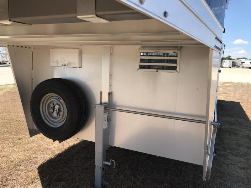 2019 Platinum Coach 24 Show Stock Livestock Trailer
