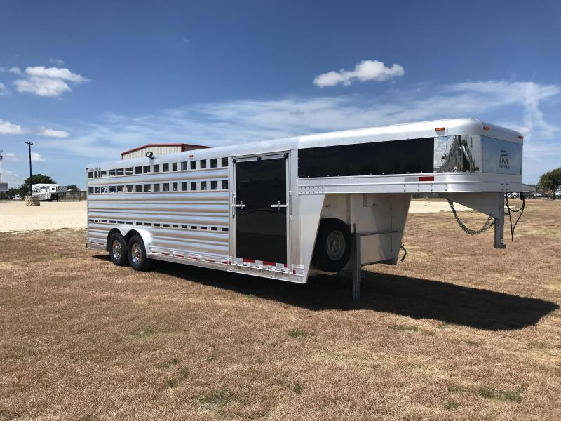 2019 Platinum Coach 24 Show Stock Livestock Trailer