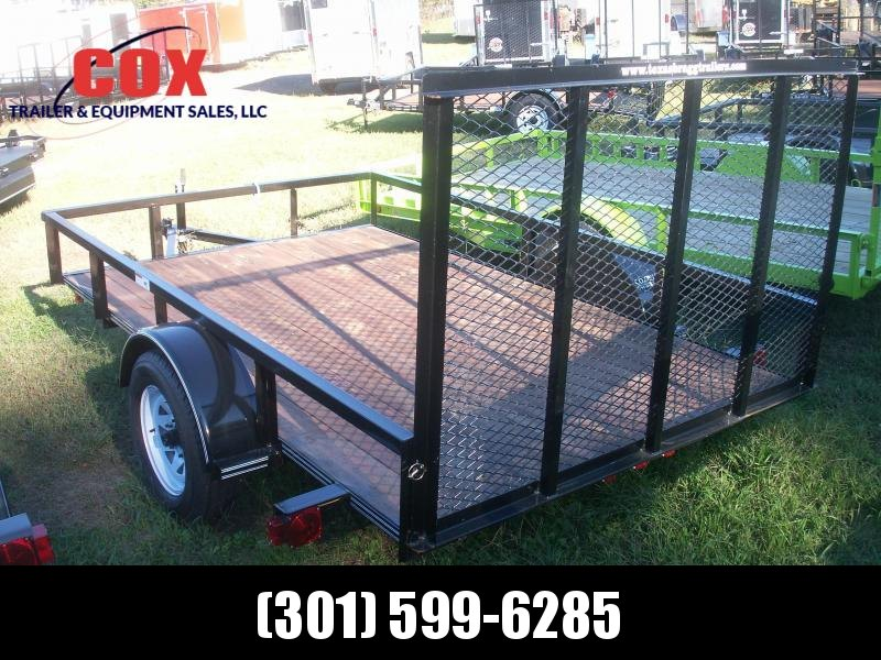 2015 Texas Bragg Trailers LD29 WITH GATE Utility Trailer