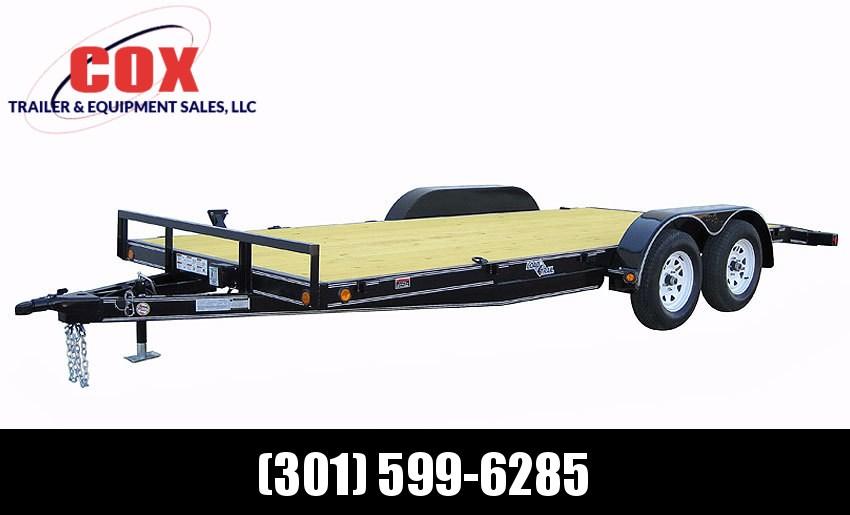 "2019 Load Trail 102"" X 18' Tandem Axle Carhauler Car / Racing Trailer"
