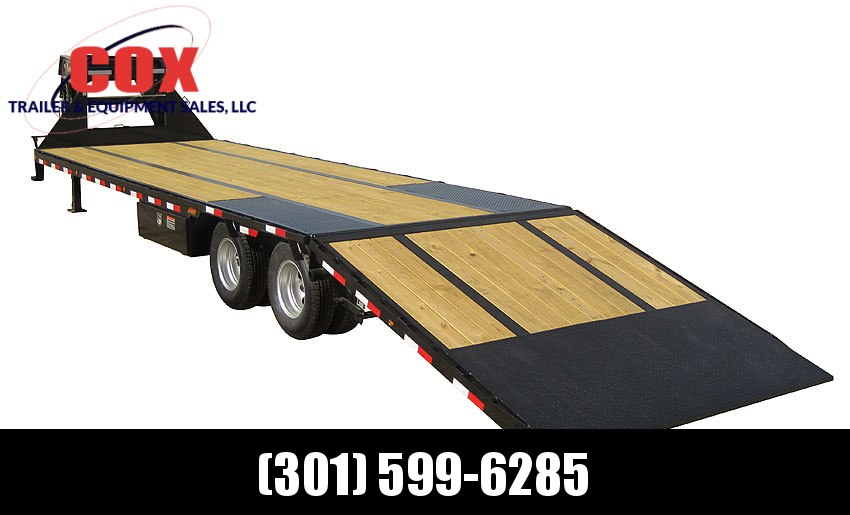 "2018 Load Trail 102"" X 32' Tandem Low-pro Gooseneck Equipment Trailer"