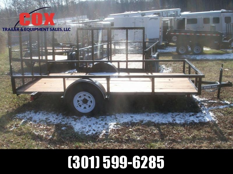 2018 Texas Bragg Trailers LD 29 12 W/GATE Utility Trailer
