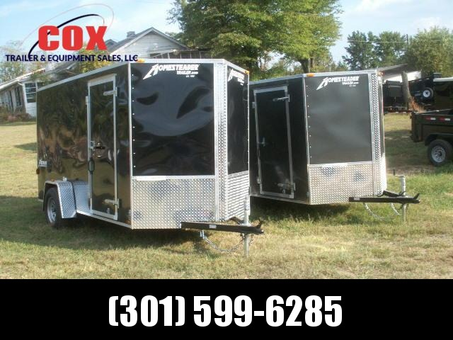 2019 Homesteader 10 PATRIOT SPECIAL V-NOSE REAR RAMP Cargo / Enclosed Trailer