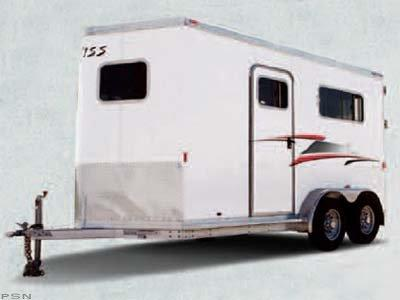 2018 Exiss 720 ST Horse Trailer