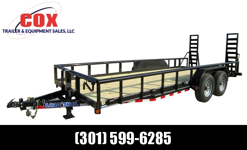 "2019 Load Trail 83"" X 16' Tandem Axle Carhauler Car / Racing Trailer"
