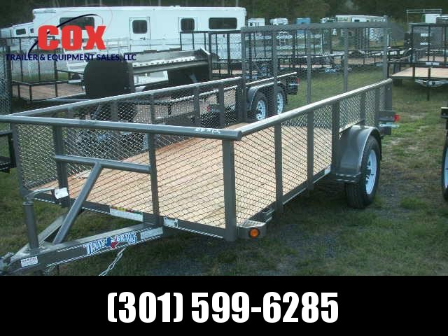 2016 Texas Bragg Trailers 12 LANDSCAPE SPECIAL Utility Trailer