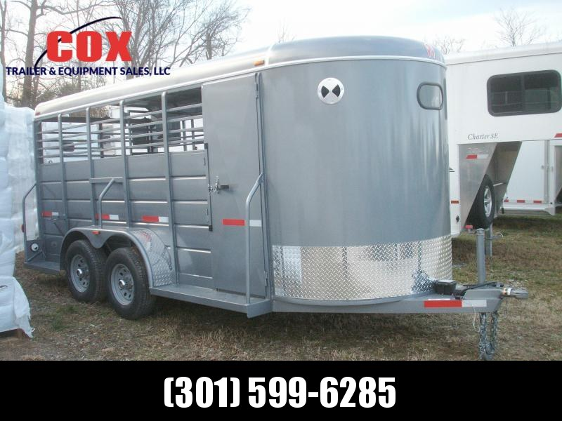 2020 W-W Trailer ALL AROUND 16 BP HD Livestock Trailer