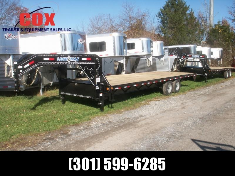 2016 Load Trail 26 STRAIGHT DECK GN LOAD TRAIL Equipment Trailer