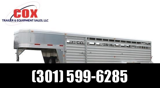 """2017 Exiss STK 8024 - 7'0"""" Tall Stock / Stock Combo Trailer"""