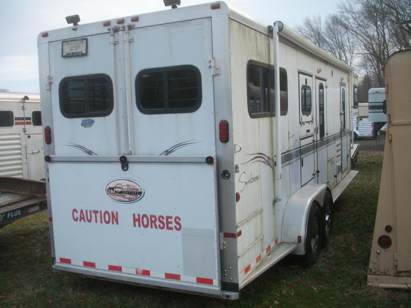 2003 Sundowner Trailers USED LQ SUNDOWNER Horse Trailer