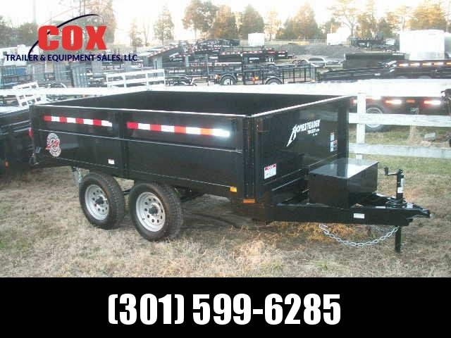 2018 Homesteader 6 10 D/O Dump Trailer