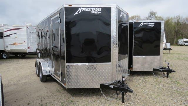 2019 Homesteader Intrepid 7x16 Enclosed Cargo Trailer