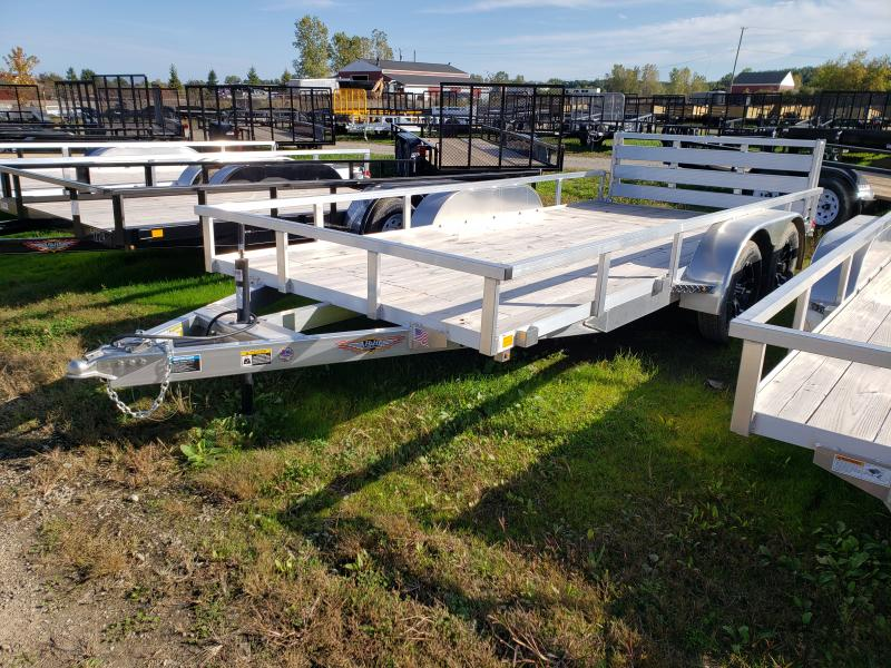 2019 H and H Trailer 82X16 Aluminum Landscape Trailer
