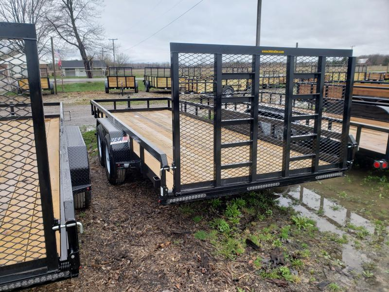 New  82X20 Heavy Duty 10K Landscape Trailer