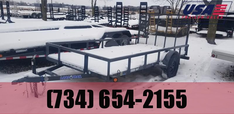 2018 Load Trail 77x12 Landscape Shortside Utility Trailer