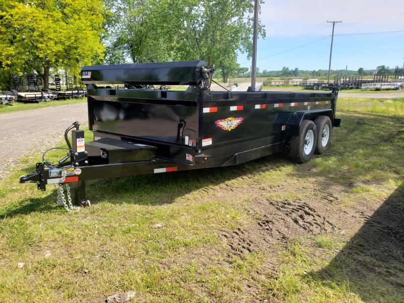 New 83X16 H&H Dump Trailer 14K