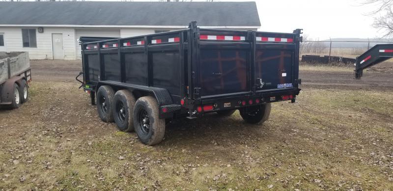 New 83x16 14K Gooseneck Dump Trailer Check It Out!!!