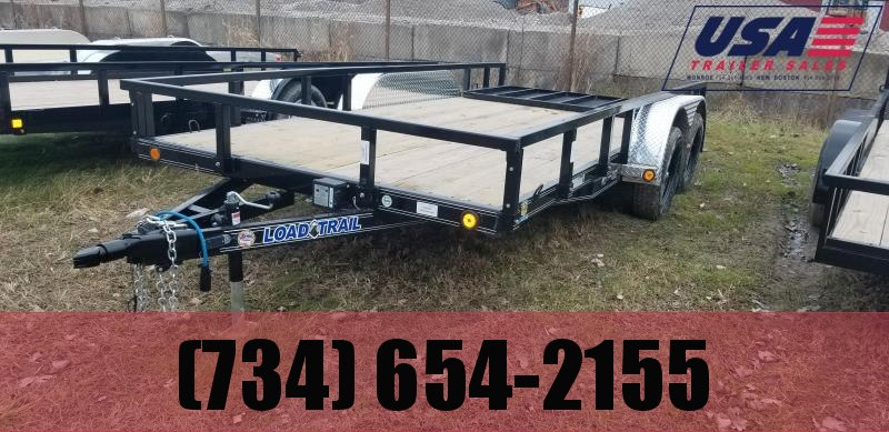New Load Trail 83x16 Heavy Duty Landscape Trailer