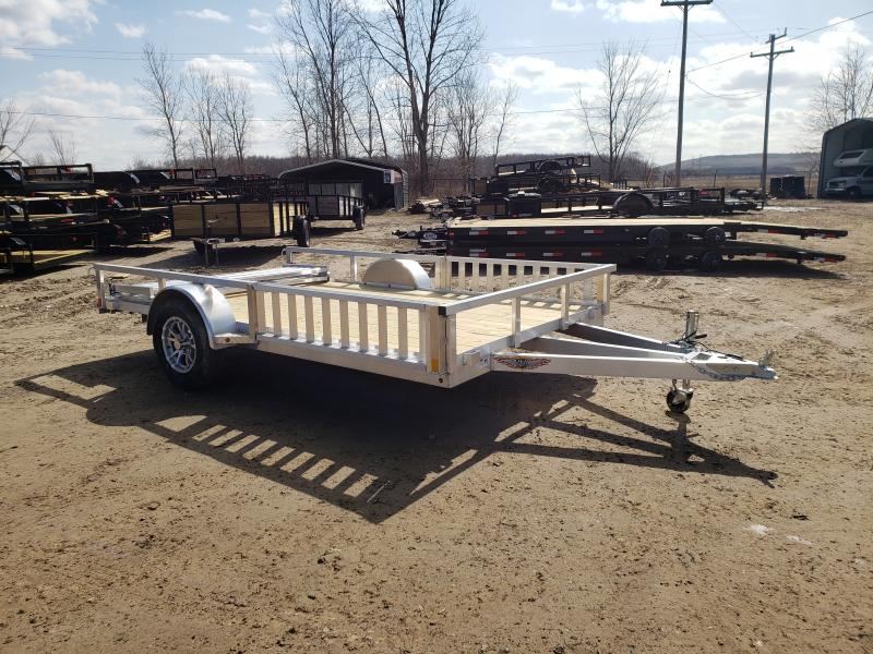 New 82x12 Aluminum Landscape Trailer w/Side Ramp